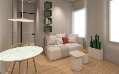 ARCHITECTURAL SOLUTIONS FOR SMALL APARTMENTS